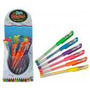hurtownia Upominki & Artykuly papiernicze: COOL SCHOOL Neon  Gelstifte 6 razy mieszany - CA 15