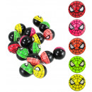 Flummi Dopsball  Spider Design ca 32 mm