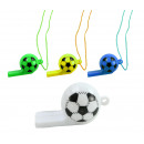wholesale Smoking Accessories: Whistle football whistle on the band 4 assorted co
