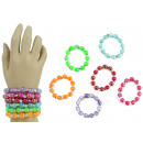 Bracelet beads 6- times assorted - Circumference c
