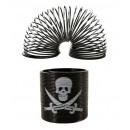 Spiral pirate skull - ca 3,5cm