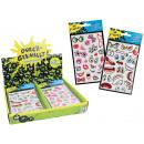 Sticker 3D Sticker 2 times assorted - card ca 19x1