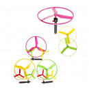 flying saucers 3 colors assorted - ca 19cm