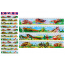 Ruler 3D insects 4- times assorted - 20 cm