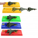 wholesale Toys: Airplane with launcher 4- times assorted - about 1