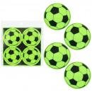 Sticker reflektierend Fußballdesign 4 ...
