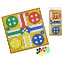 wholesale Parlor Games:Game Ludo ca 24,5x24,5cm