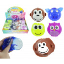 Water slime ball animal motif 4- times assorted ab
