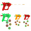 Pistol disc times assorted 3 times assorted about