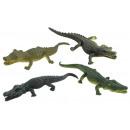 Großhandel Puppen & Plüsch: Krokodil 4-fach sortiert ca 14 cm