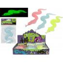 SCARY ALERT Sticky Snake Glow in the Dark 30cm