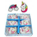 wholesale Dolls &Plush: Eraser unicorn rainbow approx 4 cm