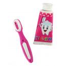 Radír fogkefe / fogkrém kb. 5cm