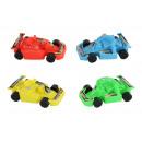 wholesale Kids Vehicles: 4-color go-kart assorted approx 8.5cm