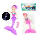 Sirena con luce 2 colori assortito circa 20 cm