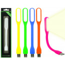 Lampada LED USB 6 volte assortito - circa 17 cm