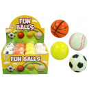 Sportball  Knautschball 4x  assorted - approx ...