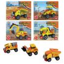 wholesale Blocks & Construction: Building blocks Construction vehicles 4 - fold ...