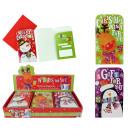 grossiste Cartes de vœux: carte de Noël pour  bons et cadeaux - ca 16