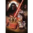 groothandel Licentie artikelen: Star Wars Poster Aflevering 7 - montage