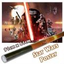 groothandel Licentie artikelen: Star Wars Poster Aflevering 7- Galaxy ca 91x61cm