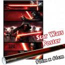 groothandel Licentie artikelen: Star Wars Poster Aflevering 7 - Kylo Ren-panelen