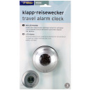 Travel alarm clock folding ca 7.5cm