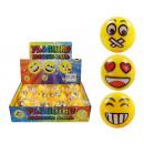 Palla Lightball Springball giallo con facce - c