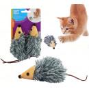 Großhandel Puppen & Plüsch: Katzenspielzeug Maus 2 Stück auf Karte - ca 18cm