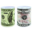 mayorista Regalos y papeleria: caja de dinero del dólar Diseño 2 veces surtido -