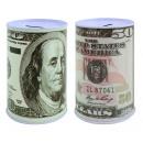 Moneybox dollar Design - ca 12x7,5cm