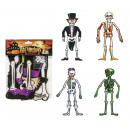 Skeleton decoration 4- times assorted - about 75cm