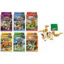 Großhandel Bausteine & Konstruktion: Bausteine Jurassic Age 6 fach sortiert in Box ca 1