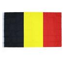 grossiste Gadgets et souvenirs: Drapeau - Belgique environ 90x150 cm