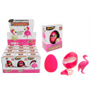 Flamingo egg growing - in box about 10.5x7.5x5