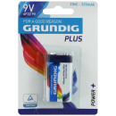 wholesale Batteries & Accumulators: Battery GRUNDIG 9  volt block battery on card c