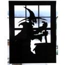 ingrosso Altro: Window Sticker Strega, circa 80 x 60 cm