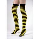 calze ape, giallo / nero