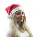 Großhandel Kopfbedeckung: Weihnachtsmütze mit Bommel
