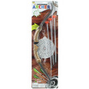 Großhandel Outdoor-Spielzeug: Pfeil und Bogenset auf Karte ca 63,5x19cm