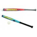 Großhandel Bälle & Schläger: Baseballschläger 2-fach sortiert mit Ball - ca 71