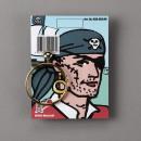 wholesale Earrings:Pirate earring on card