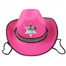 Cowboy hat pink for children