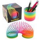Spirale arcobaleno a spirale in scatola - circa 7,