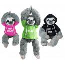 Großhandel Fashion & Accessoires: Faultier mit Pullover 3-fach sortiert - ca ...