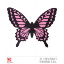 wholesale Toys: BUTTERFLY WINGS IN  BLACK AND PINK Erwachsenengr