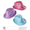 wholesale Toys: FEDORA IN ZICKZACK  WITH PAILLETTEN in 3 colors sor