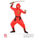 wholesale Trousers: RED DRAGON NINJA  (top with hood, trousers, Gird