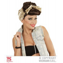 wholesale Skirts: BROWN ROCKABILLY PIN UP GIRL WIG WITH HAIRBAND