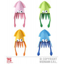 wholesale Toys: HAT IN THE FORM OF  GIANT SQUID in 4 colors s